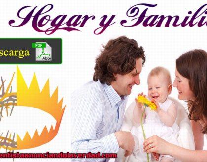 HOGAR Y FAMILIA [ Guía de Estudios para la Familia ]