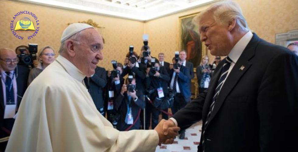 NOTICIAS [ Papa Francisco recibe a Donald Trump y le invita a cultivar la paz ]