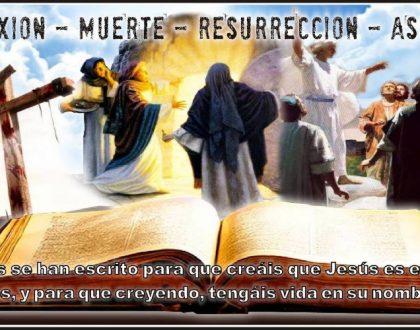 LAS 28 DOCTRINAS [ 09.- VIDA, MUERTE Y RESURRECCION DE CRISTO ]